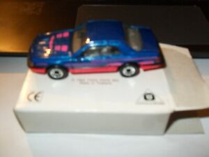 Matchbox Superfast No 59 Ford T-Bird Turbo Coupe1987 NEW CONDITION ORIGINAL BOX