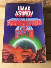 Foundation and Earth by Isaac Asimov Large Paperback