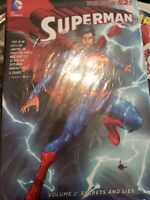 DC The New 52 Superman Hardcover Graphic novel