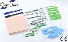 Sutura Formazione Kit Pro Per Veterinari Medico Studenti Infermiera Pratica