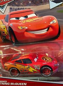 "DISNEY PIXAR CARS ""DETERMINED McQUEEN"" NEW IN PACKAGE, SHIP WORLDWIDE"