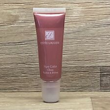 Estee Lauder Pure Color Gloss  02 RHUBARB Travel Size New RARE