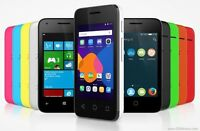 BRAND NEW ALCATEL ONE TOUCH PIXI 3 BLACK SIM FREE UNLOCK ANDROID 4.4-SMARTPHONE