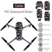 For DJI Mavic Pro Drone Waterproof PVC Camo Stickers Decal Skin Wrap Protector