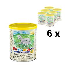 Bambinchen 1 - Babynahrung bis 6 Mon. 6x400g