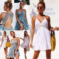 Minikleid Cocktailkleid Sommerkleid Strand Kleid Clubwear Mini Partykleid BC508