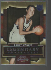 BOBBY WANZER 2009-10 PLAYOFF CONTENDERS LEGENDARY  CONTENDERS  CARD #16