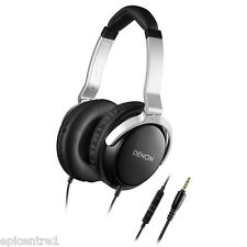 DENON  AH-D510R FULL SIZE OVER EAR HEADPHONES IN LINE REMOTE MICROPHONE NEW