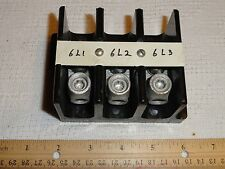 SQUARE D TERMINAL BLOCK Class 9080 V-3 600V BK power distribution