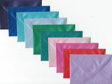 """50   70mm x 100mm  LITTLE PEARL ENVELOPES 10 ASSORTED COLOURS  2.7/"""" x 3.8/"""""""