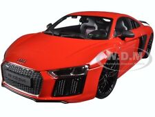 AUDI R8 V10 PLUS RED EXCLUSIVE EDITION 1/18 DIECAST MODEL BY MAISTO 38135
