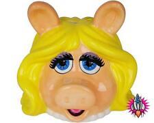 THE MUPPETS MISS PIGGY HEAD CERAMIC OFFICIAL MONEY BOX PIGGY BANK SAVINGS JAR