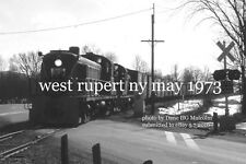 Delaware and Hudson Railway 4099 West Rupert NY May 1973