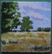The Boundary Oaks : Original Impressionist Oil Painting on Board : Shaun Viney