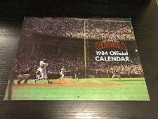 1984 San Francisco Giants Baseball Calendar Frank Robinson Mike Krukow Kuiper