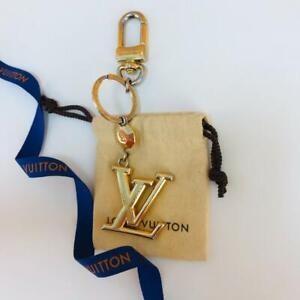 LOUIS VUITTON CHARM KEY CHAIN GOLD-TONE METAL - FREE SHIPPING