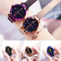 Starry Sky Masonry Watch Magnet Strap Buckle Stainless Luxury Watch Bracelet