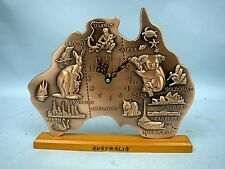Quartz Copper Clock of Australia
