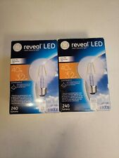 Reveal LED 40w Frosted Light Bulbs Set Of Two