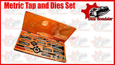 "HQ TAP AND DIE SET 1/4 TO 1-1/2"" BRITISH STANDARD WHITWORTH- BOXED COMPLETE BSW"