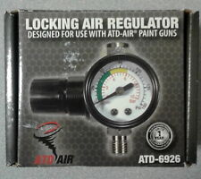 ATD-6926 LOCKING AIR REGULATOR FOR USE WITH ATD-AIR PAINT GUNS