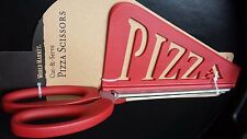 NEW Pizza Cutting Scissors with Serving Spatula, Red