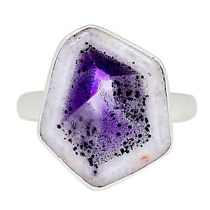 Super Amethyst 23 925 Sterling Silver Ring Jewelry s.10 ALLR-25
