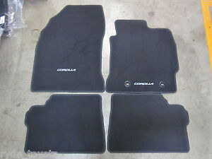 COROLLA HATCH CARPET FLOOR MATS ZRE182 AUGUST 2012 to MAY 2018