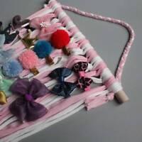 Mädchen Hair Bows Speicher Gürtel Barrette Hairband Organizer Haarspangen Halter