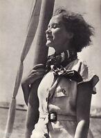 """Hans Namuth - portrait de femme  - Photogravure in  """" AMG 1937 """""""