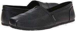 New 76575 Skechers Kincaid II SR Womens Slip-On Work Shoes Black memory foam A3