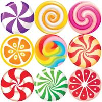 144 Sweet Lollipops 30mm Children's Reward Stickers for Teachers or Parents