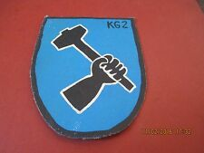 WWII LUFTWAFFE BATTLE OF BRITIAN KG 2 BOMBER  SQDN  FLIGHT JACKET PATCH
