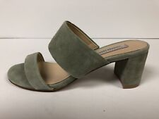 Chinese Laundry Kristin Cavallari Lakeview Suede Sage Green Womens 6.5