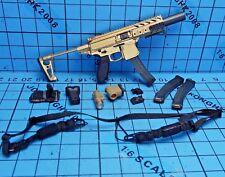 VTS 1:6 VM-019R The Darkzone Agent Tracy R Figure- Gold SIG MPX-K Submachine Gun