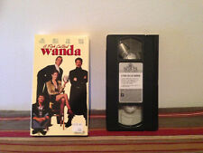 A Fish Called Wanda (VHS) Tape & sleeve