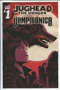 JUGHEAD THE HUNGER vs. VAMPIRONICA #1 - FRANCAVILLA COVER - ARCHIE COMICS/2019