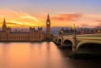 London Calling View of Big Ben House of Parliament Thames River Photo Art Print