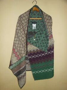 NEW Womens Stunning ESCADA Sport Waistcoat / Poncho Cardigan - Size 40 / M or L