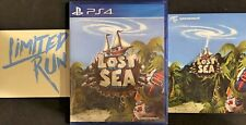 Lost Sea Ps4 Playstation 4 Limited Run Games Brand New Includes Card and Sticker