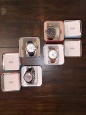 Men's Fossil Watches (4)-Pre-owned Condition With Original Box