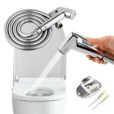 Toilet Bathroom Hand Held Handheld Sprayer Shower Bidet Spray Hose Holder Kits