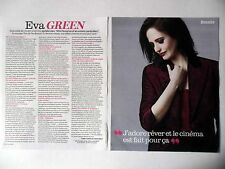 COUPURE DE PRESSE-CLIPPING : Eva GREEN [2pages] 09/2016 Interview,Miss Peregrine