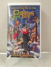 A Christmas Carol (VHS, 1997)