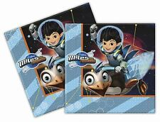 Miles From Tomorrow Luncheon Napkins 33cm 20pk - Birthday Party Tableware