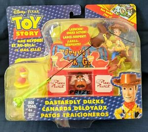 Disney Pixar Toy Story And Beyond Dastardly Ducks sealed package Woody Pizza