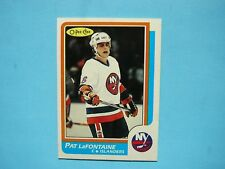 1986/87 O-PEE-CHEE NHL HOCKEY CARD #2 PAT LAFONTAINE NM SHARP!! 86/87 OPC