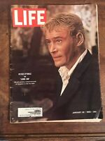 Vintage Life Magazine Peter O'Toole as Lord Jim Jan 22nd 1965