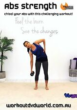 Abdominals Core Strength EXERCISE DVD - Barlates Body Blitz AB STRENGTH!