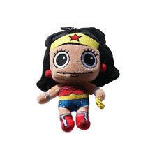 "DC Comics ""Super Soft"" Wonder Woman Plush Coin Clip Key Chain Toy Bag"